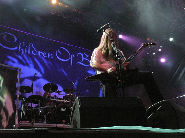 CHILDREN OF BODOM IN CONCERTO IN ITALIA