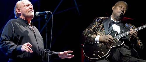 B.B. KING E JOE COCKER SUL PALCO DEL SUMMER FESTIVAL