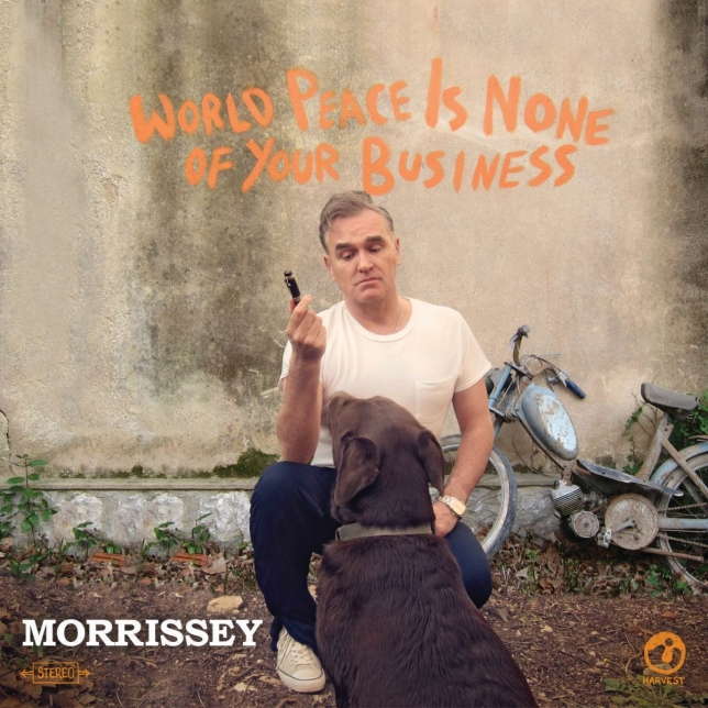 Da oggi World Peace Is None Of Your Business è il nuovo album di Morrissey